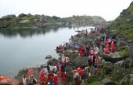 गोसाइँकुण्डमा पर्यटकको आगमन सुरु