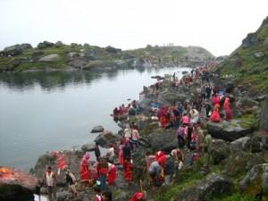 Gosaikunda Lake langtang trek Nepal