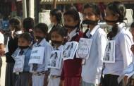 बलात्कारीविरुद्ध कडा दण्डको माग गर्दै प्रदर्शन