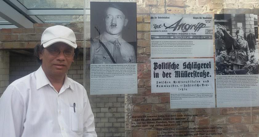 हिटलरको संसदमा नेपाली साहित्यकार