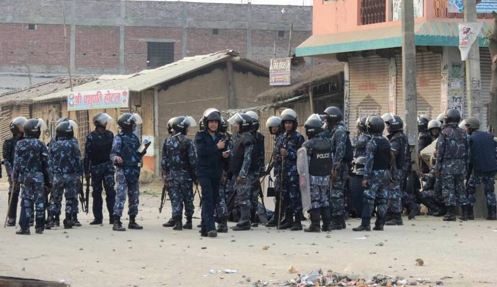 RJP forum cadres and police clash in Rautahat