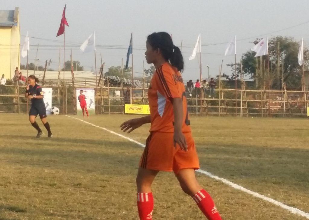 सातौं राष्ट्रिय महिला फुटबल सुरु, एपिएफद्वारा पश्चिमाञ्चललाई  शून्यविरुद्ध ३ गोल