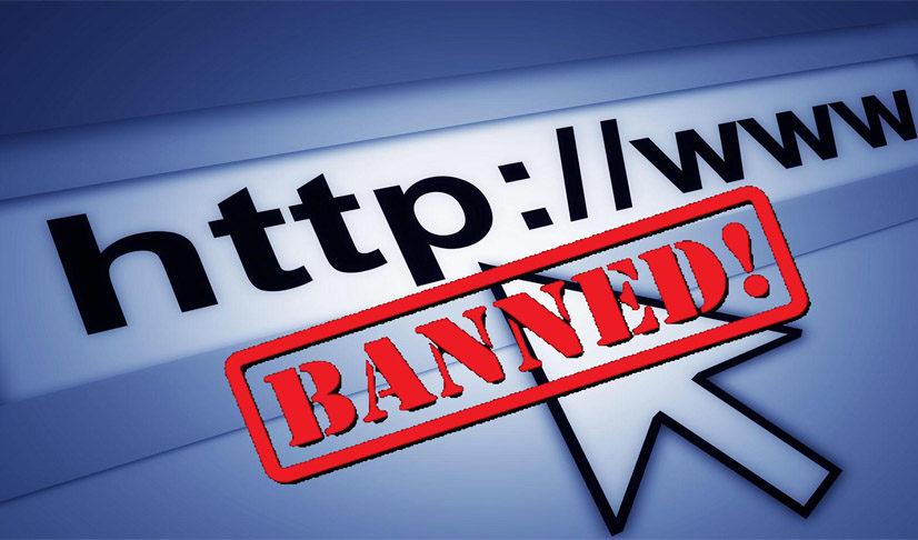 भारतको दमन नीति, इन्टरनेटको सेबा बन्द