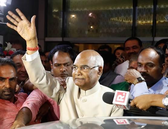 भाजपा समर्थित रामनाथ कोविद भारतको नयाँ राष्ट्रपतिमा निर्वाचित, दलित नै हराएर दलित नै विजयी
