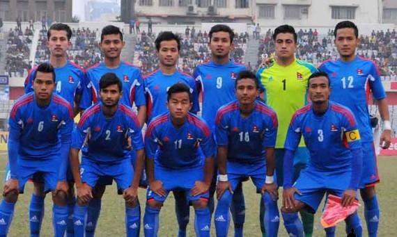३ प्रतिश्पर्धामा १ गोल पनि नगरी घर फर्कँदै नेपाली फुटबल टोली