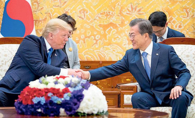 अमेरिकासँग अर्बौं डलरका हतियार लिएर उत्तरविरुद्ध के गर्दैछ दक्षिण कोरियाले ?