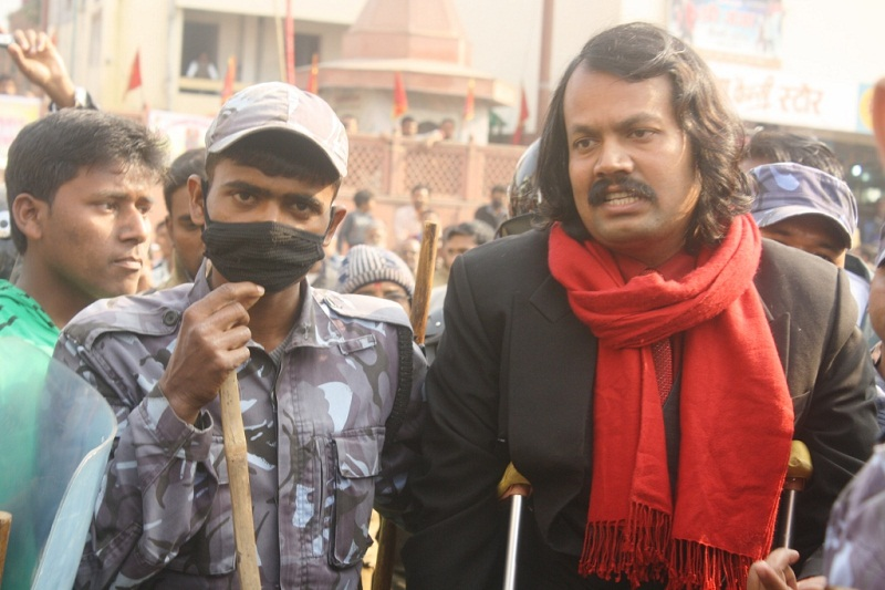 CK Raut arrested for acting against polls