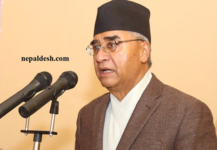 PM Deuba says corruption challenge for the world