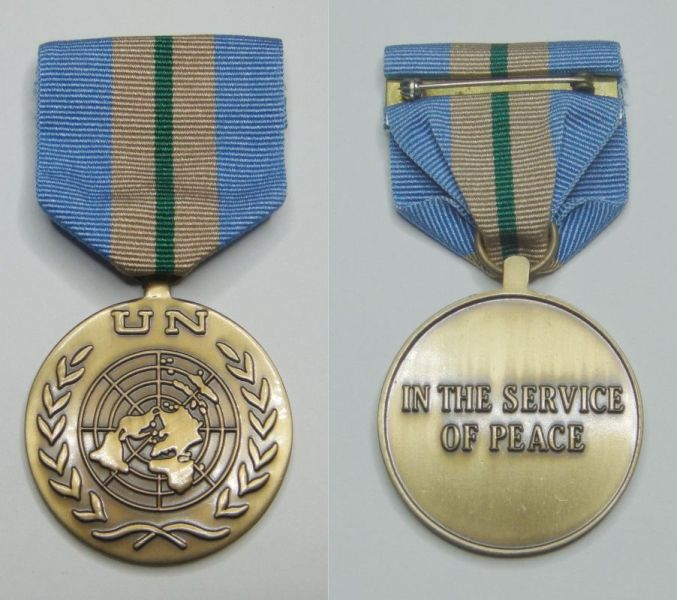 Nepalese Army gets UN medal