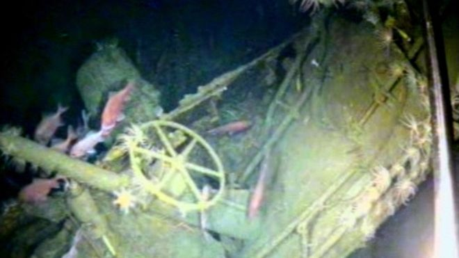 The wreck of Australia's first naval submarine has been found after a 103-year search