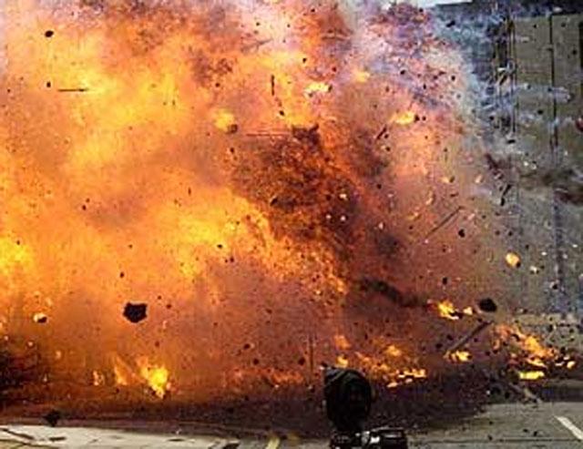 लहानको व्यस्त बजारमा शक्तिशाली बम विष्फोट