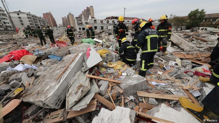 चीनमा रहस्यमय विष्फोट, २ जनाको मृत्यु ३० भन्दा बढी घाइते