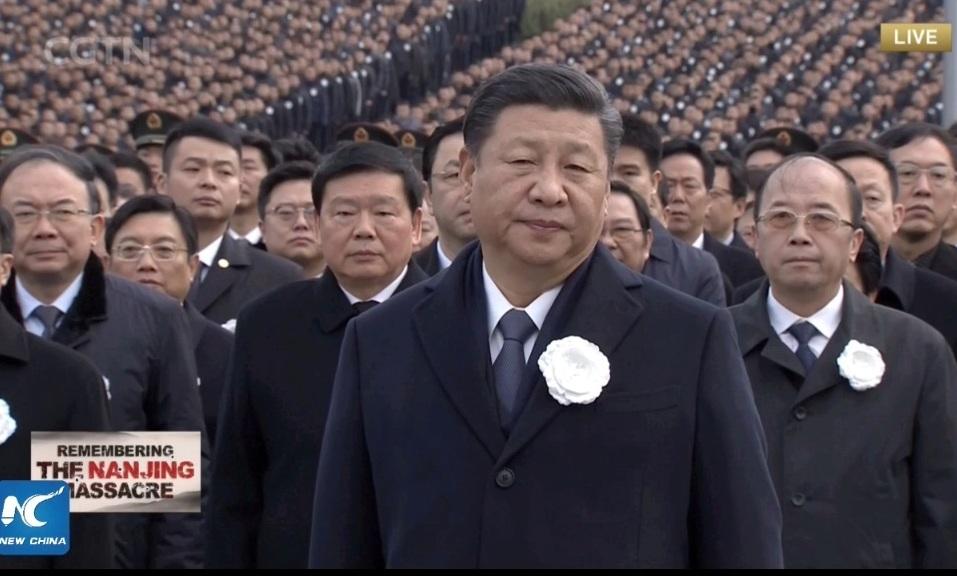 जापानले ३ लाख चिनियाँको हत्या गरेको स्मृतिमा चीनमा विशाल स्मृति समारोह (हेर्नुहोस् भिडियो)